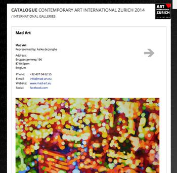 Art Zurich 2014
